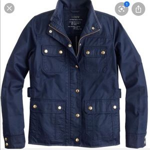 J. Crew Blue Navy Field Jacket
